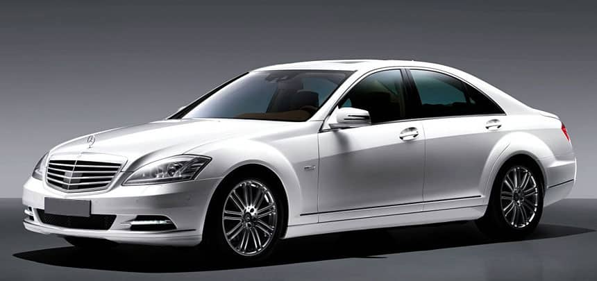 Mercedes S Class Executive Sedan Hire Car