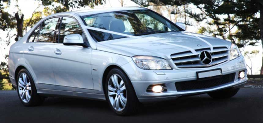 Mercedes C-Class sedan hire car